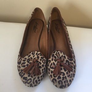 Leopard lucky brand loafers